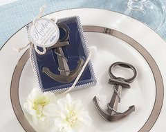 """Anchor"" Nautical-Themed Bottle Opener Favours"