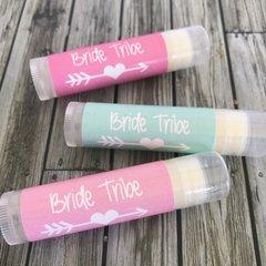"""Bride Tribe"" Lip Balms Favours"