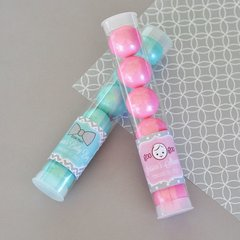 Personalised Baby Shower Candy Tubes - Baby Shower Theme