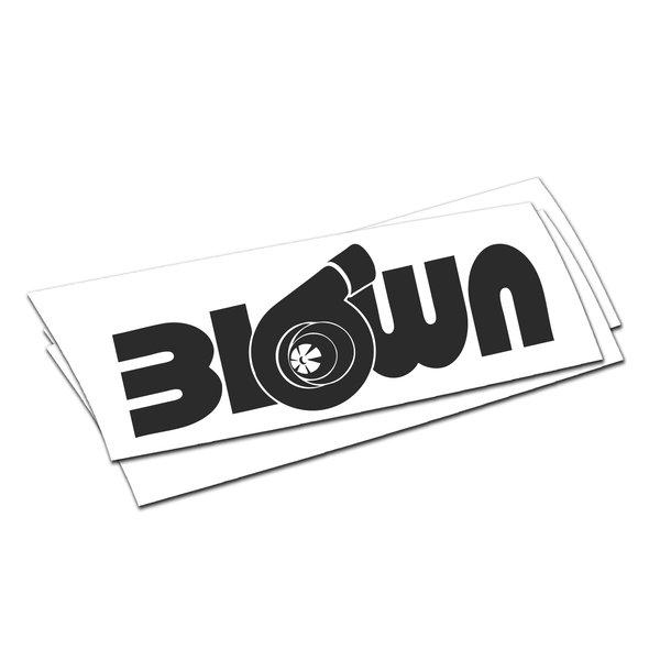 Blown turbo sticker