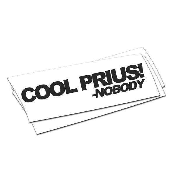 Cool Prius -nobody Sticker