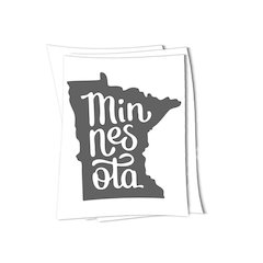 Minnesota MN sticker