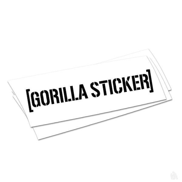 FREE Gorilla Sticker