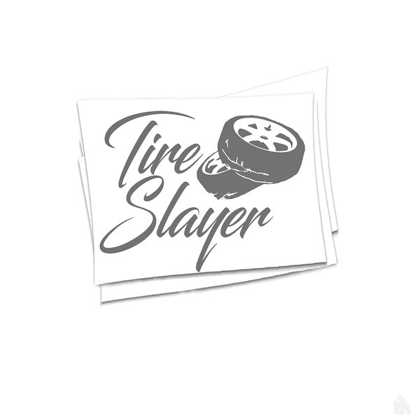 tire Slayer Sticker