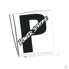powerstroke sticker