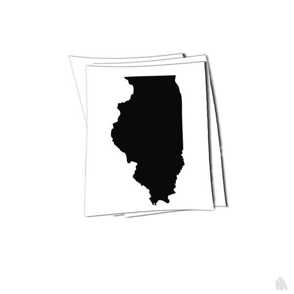 illinois state sticker