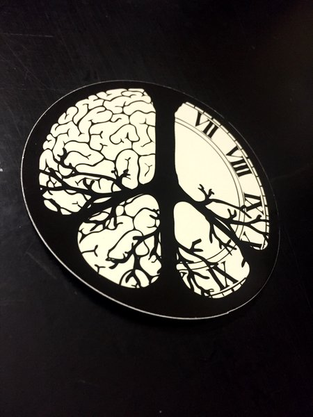 """3"""" round custom printed vinyl stickers great for indoor/outdoor qty 100-5000"""