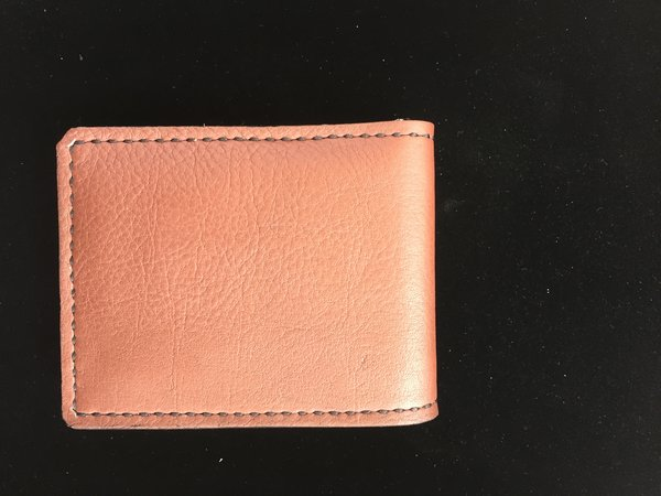 GENUINE LEATHER MADE IN TEXAS BIFOLD WALLET