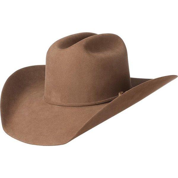 AMERICAN HAT COMPANY 1000X MINK FELT OPEN CROWN HAT