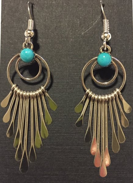 johnson earrings turquoise by long native pansy beauty american sleeping jewelry product artist