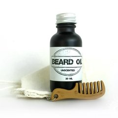 Unscented Beard Oil Gift Set