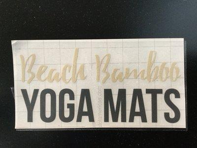 Beach Bamboo Yoga Mats