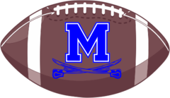 Middletown Football Decal
