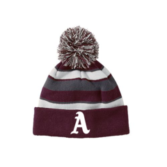AHS Holloway Beanie w/Embroidered A