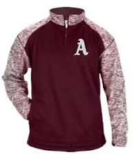 AHS Badger Embroidered Qtr Zip