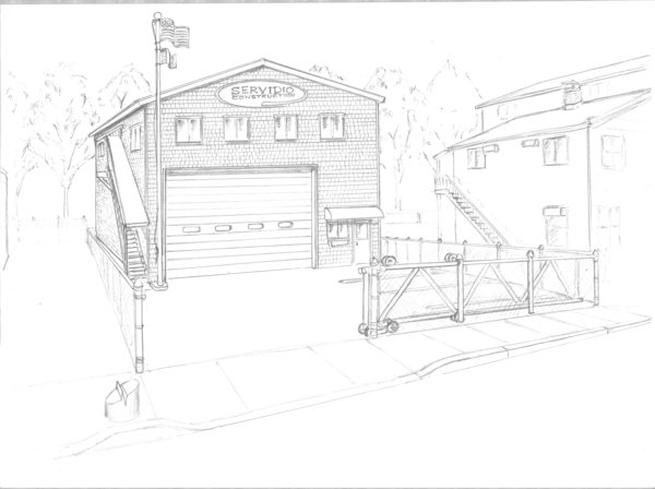 Bldg Sketch Rendering for Presentation
