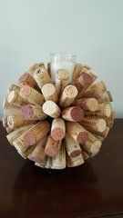 HOME - Cork Ball Candles