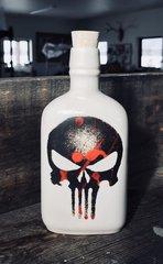 Skull Flask in White