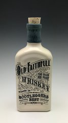 Old Faithful Flask (white with blue dip top)