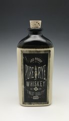 Pure Rye Whiskey Flask