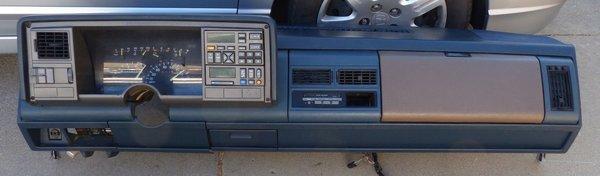 94 93 92 91 90 89 88 1988 1994 1989 1990 Gmc Chevy Truck Silverado Sierra Dash Used Classic