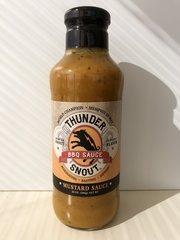 Snout Gold- ThunderSnout BBQ Sauce - Mustard Flavor - 1 case - (12 - 20 ounce bottles)