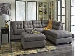 Maier Charcoal Ashley Signature Sectional