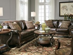 Ashley Sofa and Love seat 674