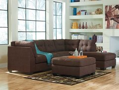 Maier Walnut Ashley Signature Sectional
