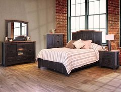 Pueblo Black Bedroom Set