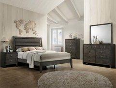 Evan Bedroom Set (grey)