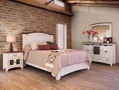 Pueblo White Bedroom Set