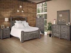 Antigua Gray Bedroom Set