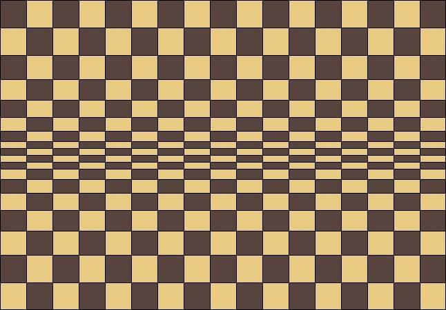 easy optical illusions - 646×450