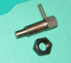Spring loaded Plunger With Lock Nut