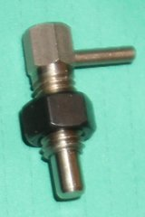 Spring loaded Plunger & Locking Nut