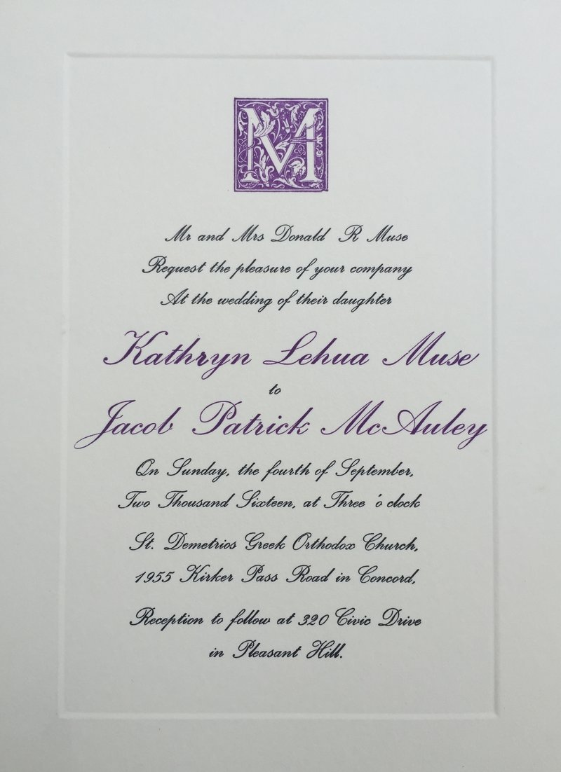 Stationery & Invitations | Guild of Saint Alban Protomartyr