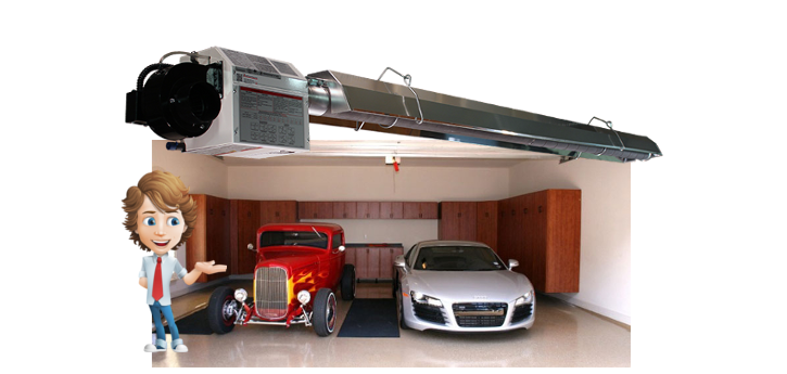 How Radiant Heaters work | Radiant Garage Heaters Serengeti-IR