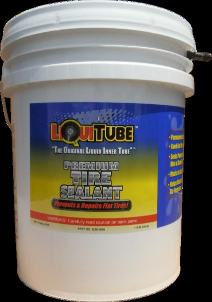 LiquiTube Premium Tire Sealant 5 Gallon Bucket (Pump sold separately)