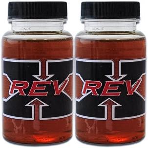 2-Pack of REV-X High Performance Oil Additive 4 oz. Bottles