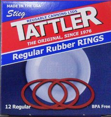 Item 27] 1 DOZEN REPLACEMENT RUBBER RINGS REGULAR MOUTH (RINGS ONLY)