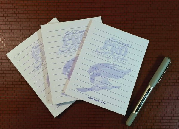 Pro-Series * Note Pads * 3 Pack