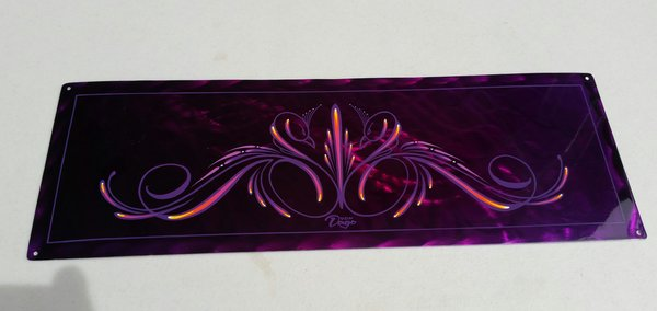 Candy Purple ground metal - Original Art panel