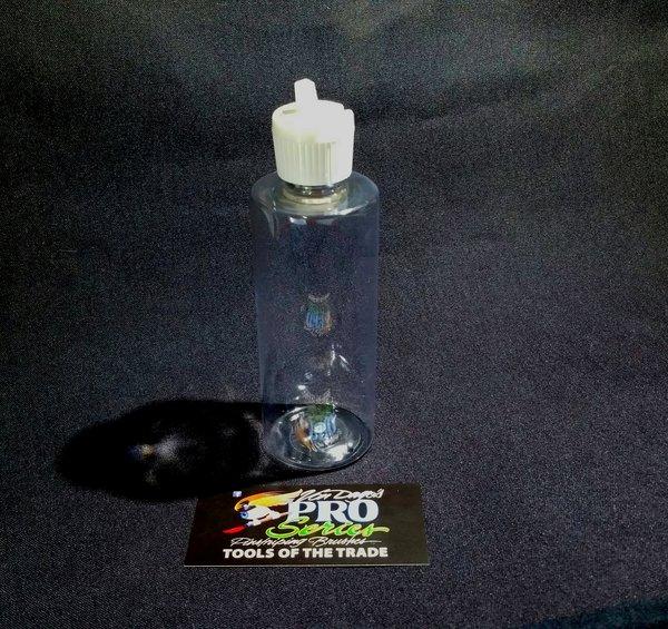 """4 oz. Clear PET ~ Reducer bottle with """"Flip Spout"""""""