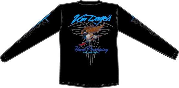 """Long Sleeve"" Flying Eyeball T-Shirt"
