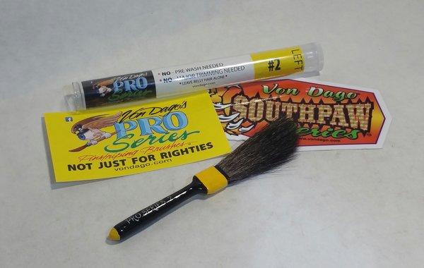 LEFT HANDED # 2 Pro-Series Pinstriping brush