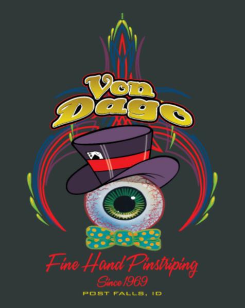 Top Hat Eyeball / Front Logo T-Shirt