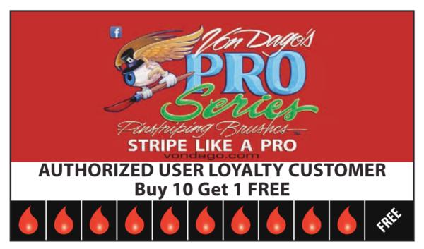 Mini Saber Scroller - Loyalty Card