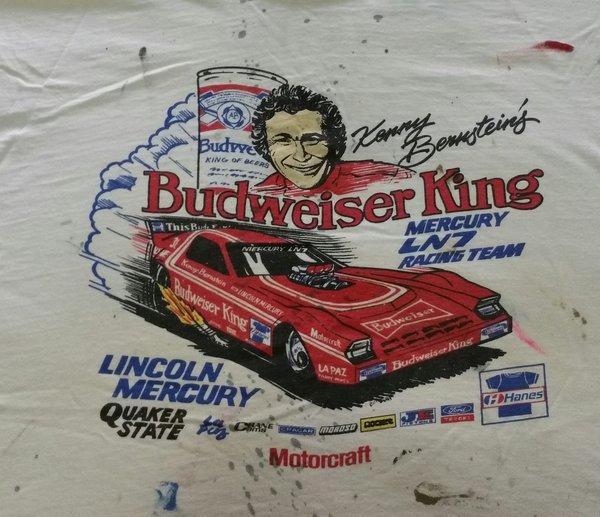 Kenny Bernsteins BUDWEISER KING top fuel Funny Car