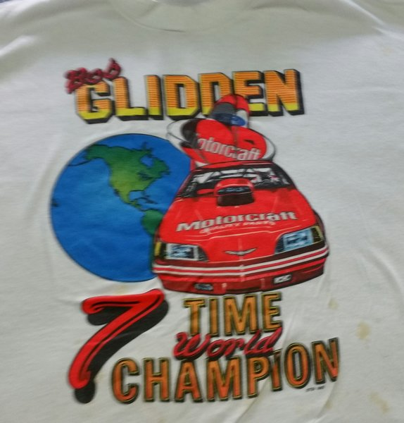 Bob Glidden PRO STOCK 7 time World Champion